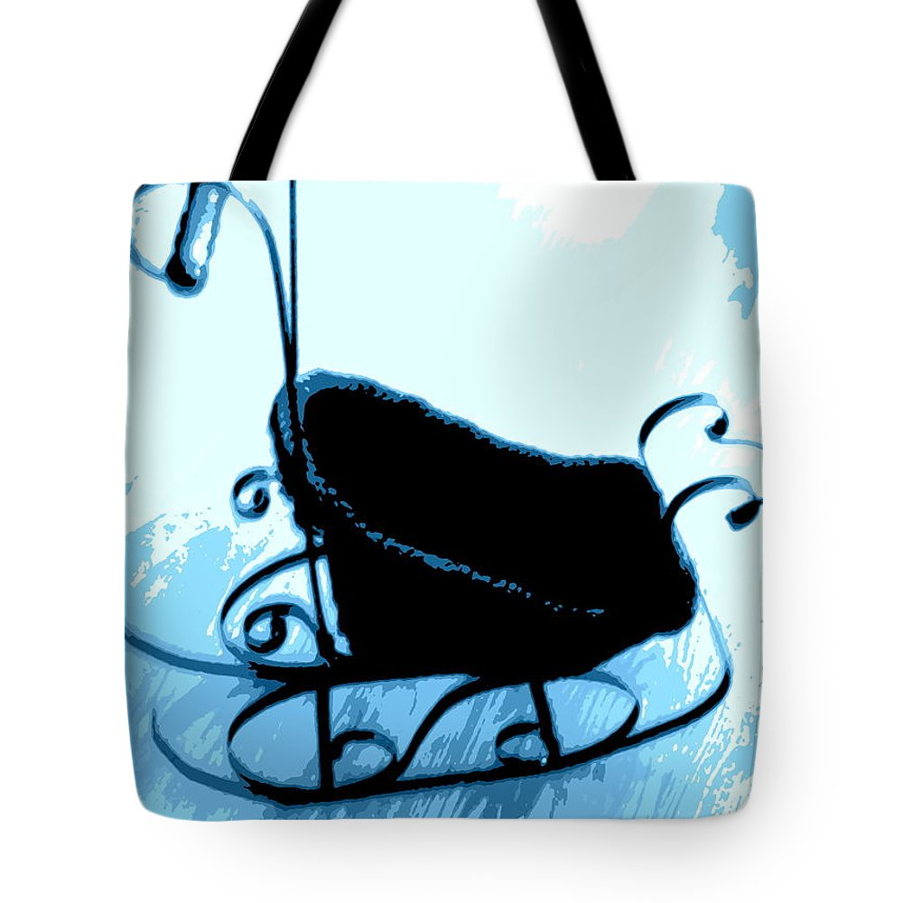 Antique Tote Bag featuring the photograph Sleigh Ride by Pamela Hyde Wilson