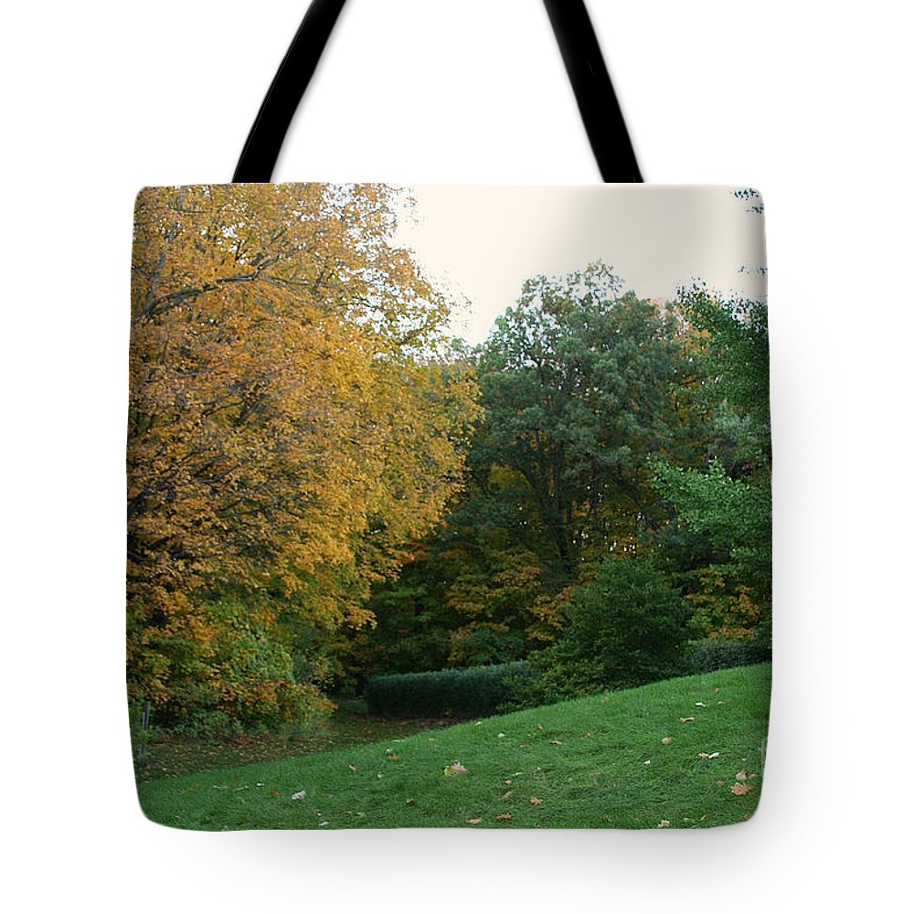 Trees Tote Bag featuring the photograph Slope by Susan Herber