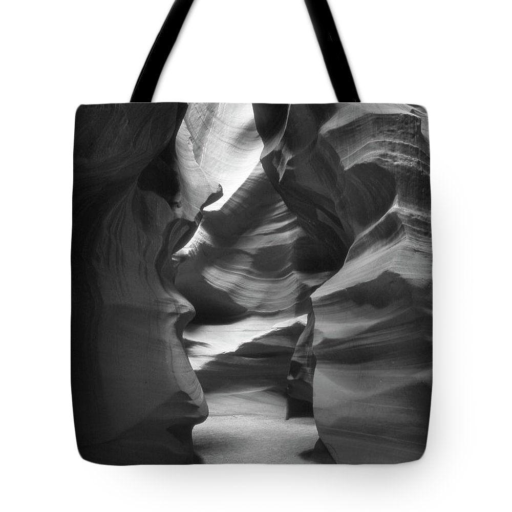 Slot Canyon Tote Bag featuring the photograph Slot Canyon 2 by Mike McGlothlen