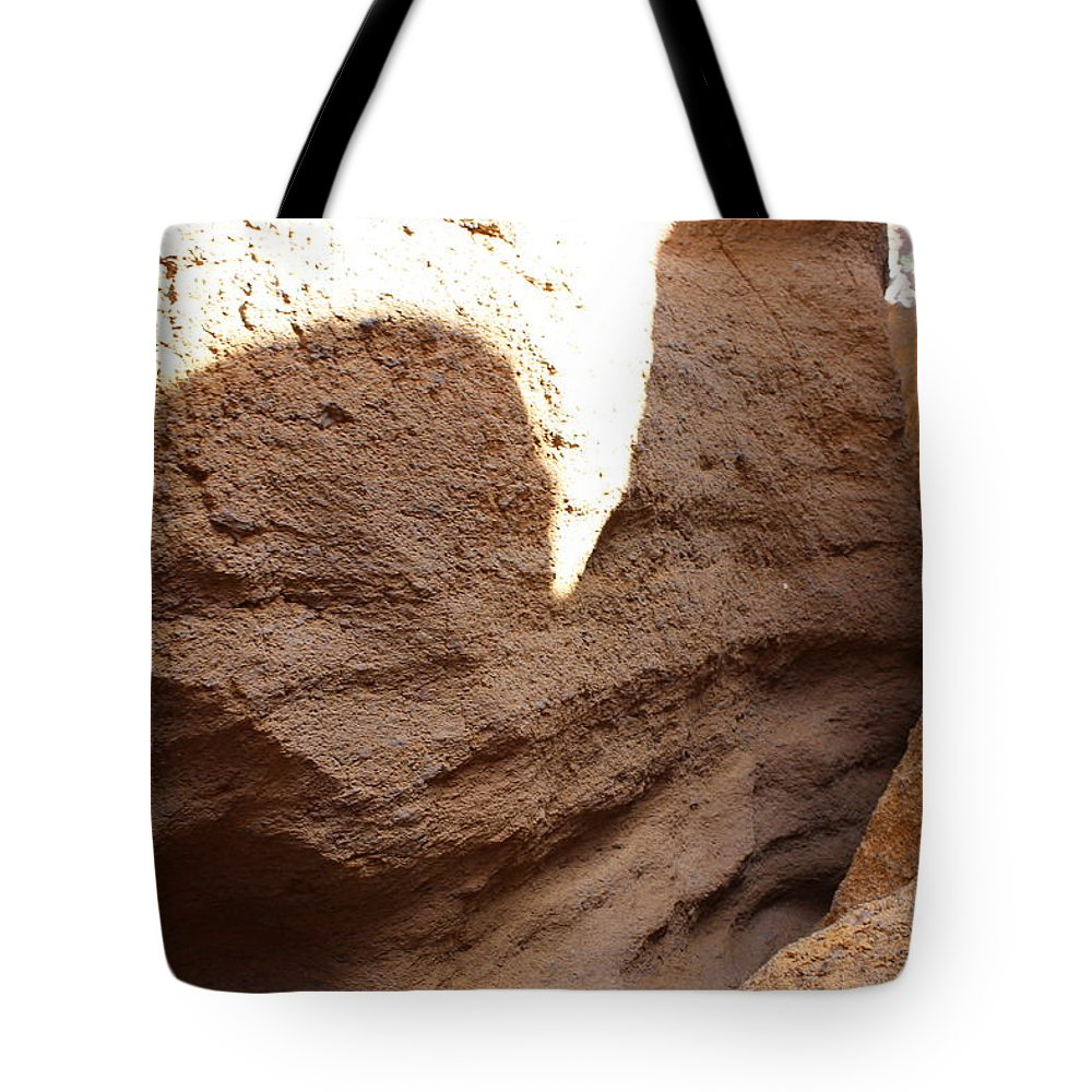 Landscape Tote Bag featuring the photograph Slot Canyon Shadows by FlyingFish Foto