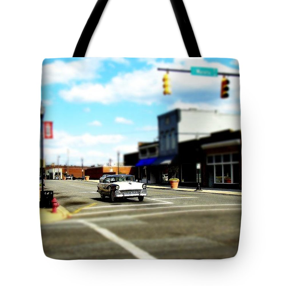 Fine Art Tote Bag featuring the photograph Small Town 3 by Rodney Lee Williams