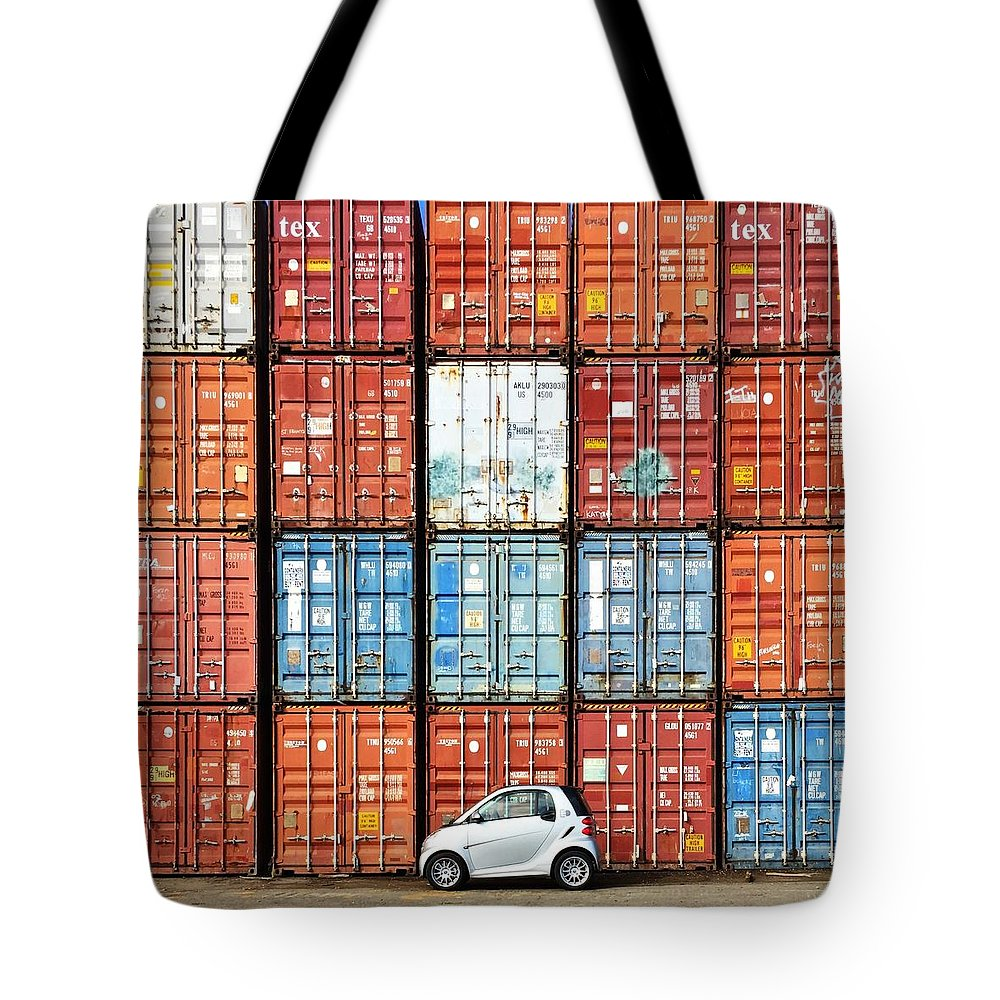 Tote Bag featuring the photograph SmartCar by Julie Gebhardt