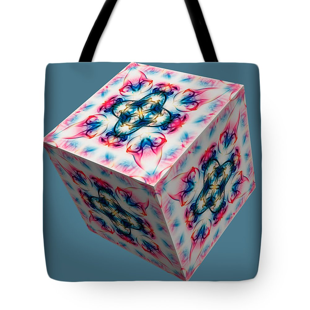 Smoking Trails Tote Bag featuring the photograph Smoke 3d 2 by Steve Purnell