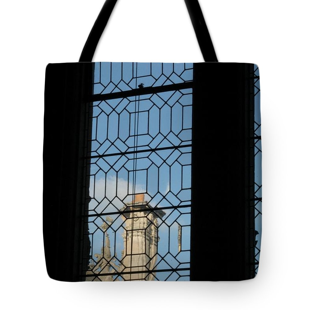 Bodleian Library Tote Bag featuring the photograph Smoke by Joseph Yarbrough