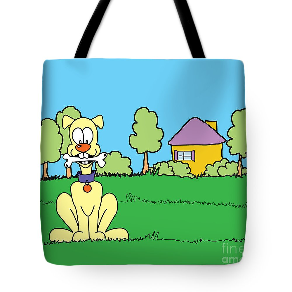 Kids Store Tote Bag featuring the digital art Snack Time by Kids Lolll