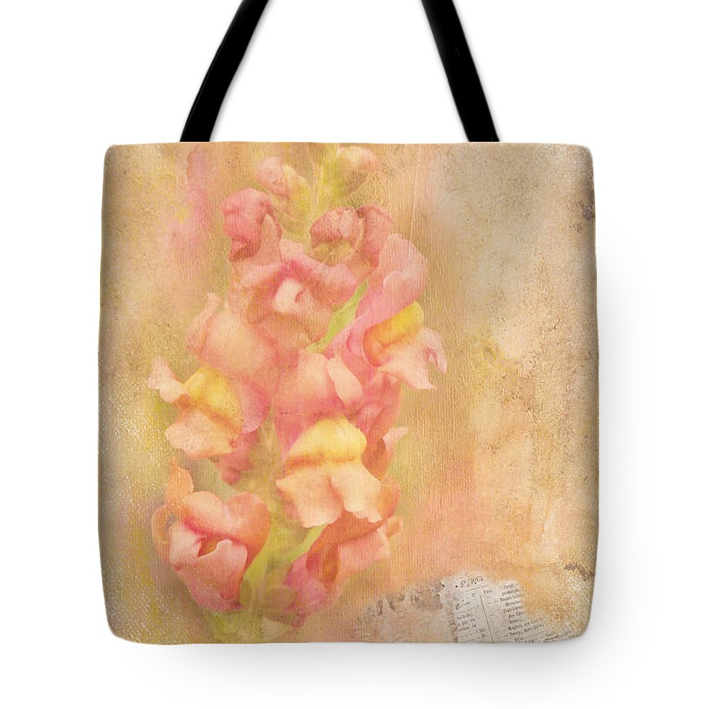 Snapdragons Tote Bag featuring the photograph Snapdragons by Judi Bagwell