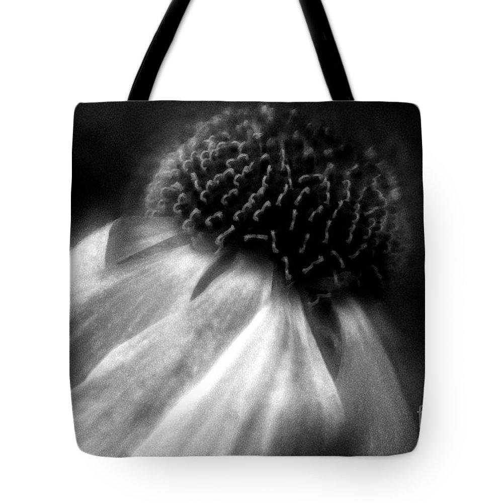 Sneezeweed Tote Bag featuring the photograph Sneezeweed by Jean OKeeffe Macro Abundance Art