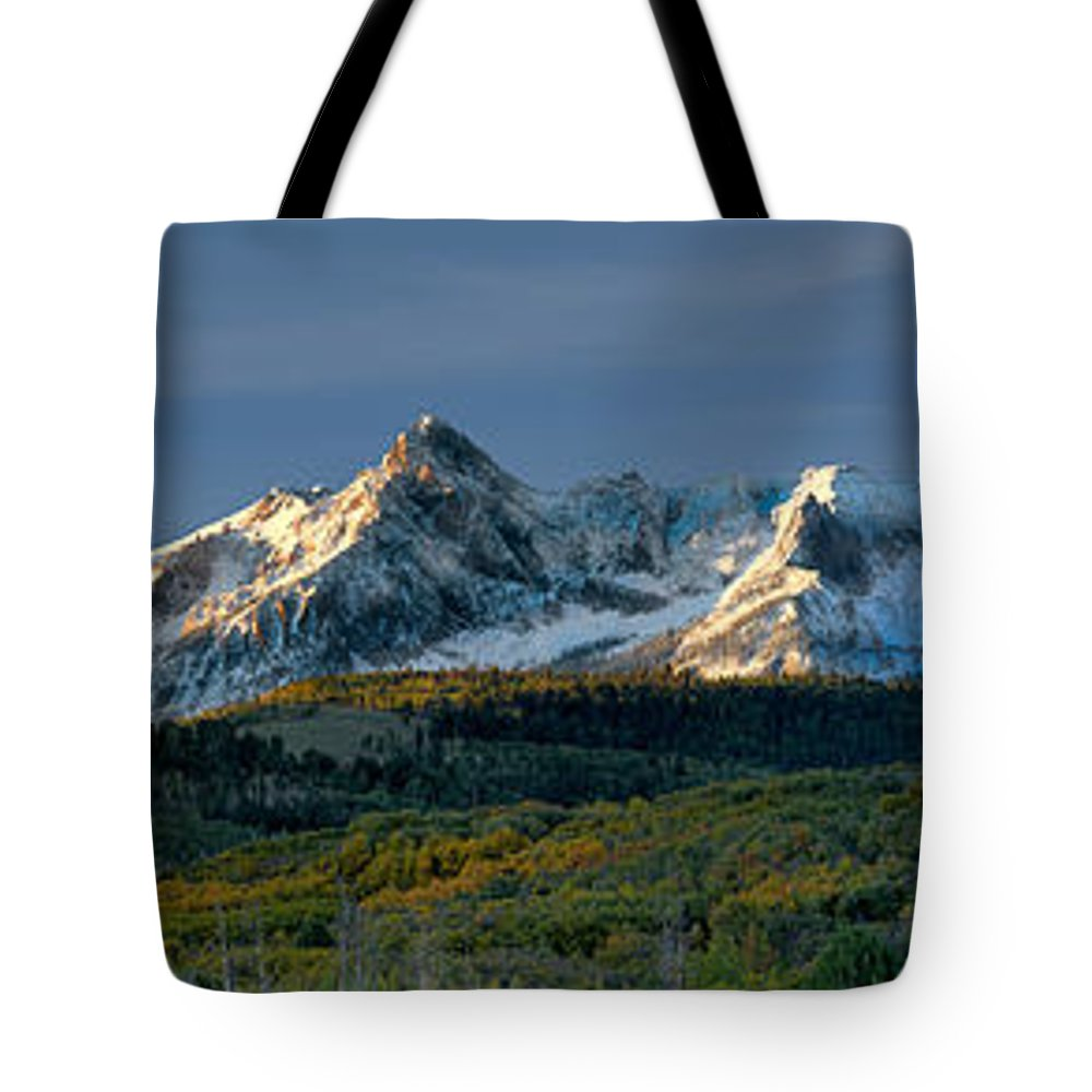 Sneffels Range Tote Bag featuring the photograph Sneffels Range by Jerry Fornarotto