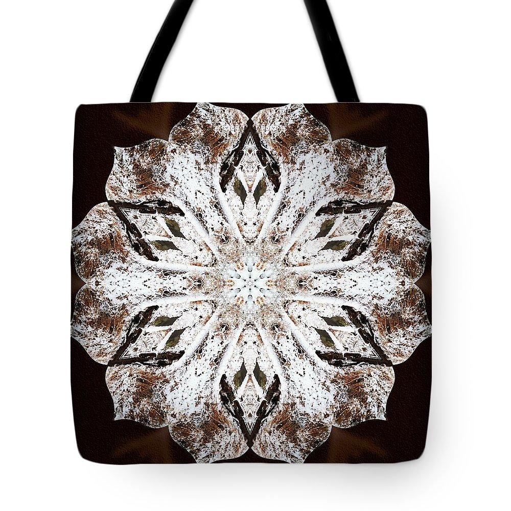 Sacredlife Mandalas Tote Bag featuring the photograph Snowbound by Derek Gedney