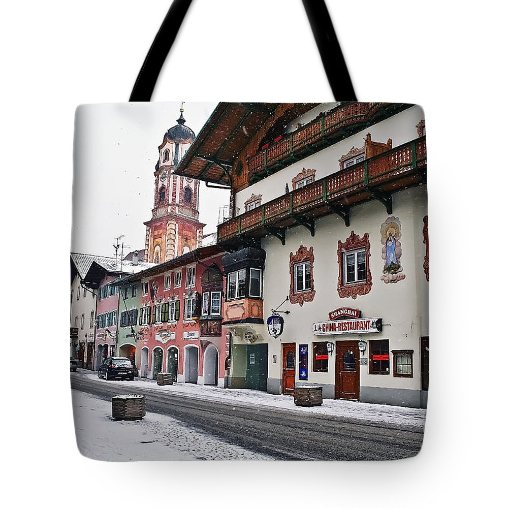 Travel Tote Bag featuring the photograph Snowy Good Friday by Elvis Vaughn