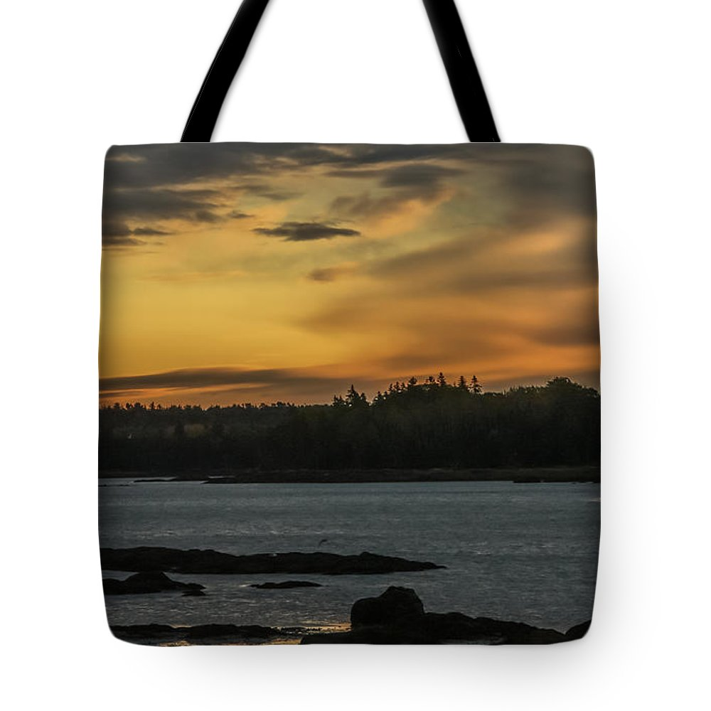 Sunrise Tote Bag featuring the photograph Soft Sunrise by Jane Luxton