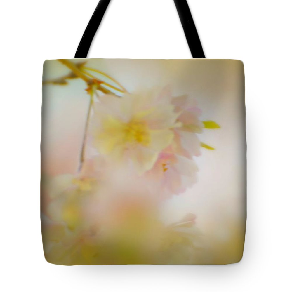 Flowers Tote Bag featuring the photograph Softly Dancing by Diana Angstadt