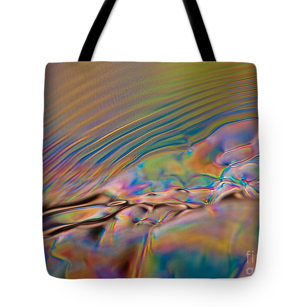 Abstract Tote Bag featuring the photograph Solitude by Anthony Sacco