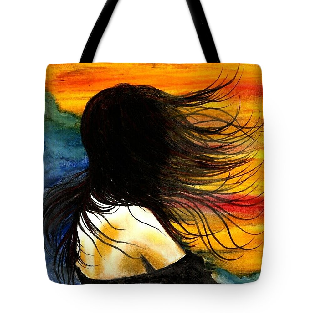 Beautiful Tote Bag featuring the photograph Solo Mood by Artist RiA