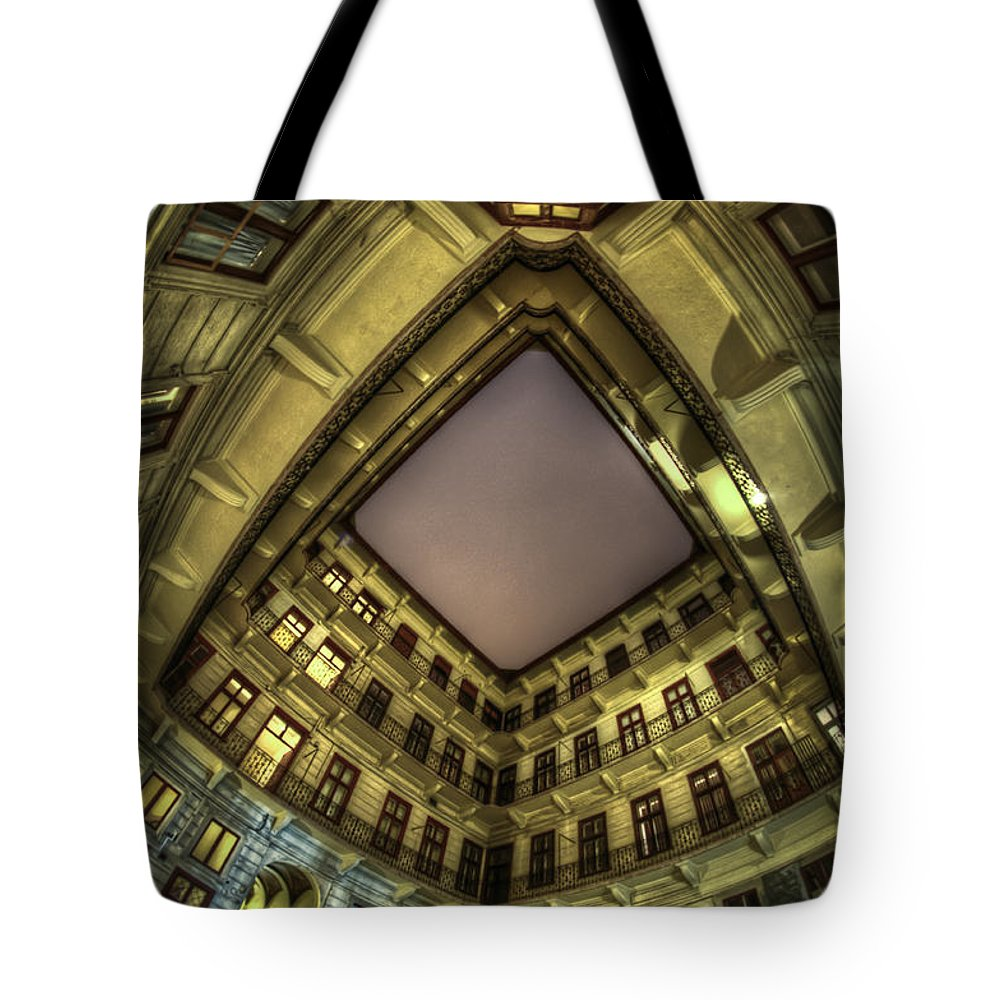 Travel Tote Bag featuring the digital art Something In The Corner by Nathan Wright