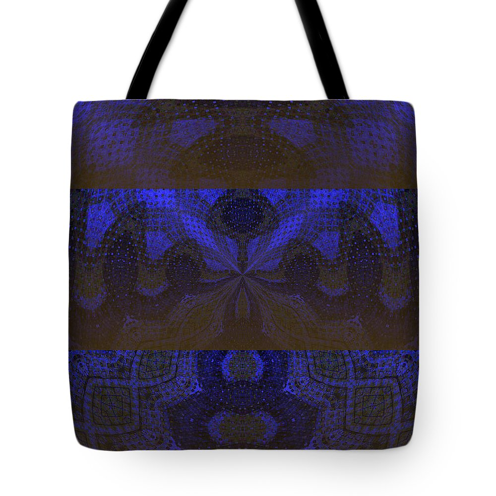 Sonic Temple Tote Bag featuring the painting Sonic Temple by Roz Abellera