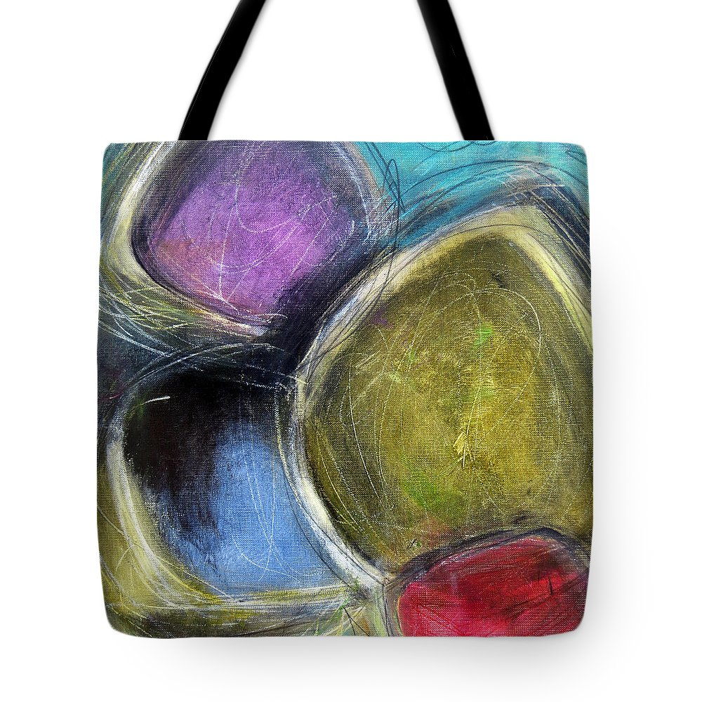 Katieblack Tote Bag featuring the painting Sorcerer by Katie Black