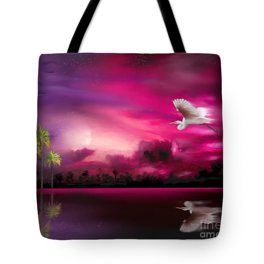 Eeriness Tote Bag featuring the painting Southern Magic by Artist ForYou