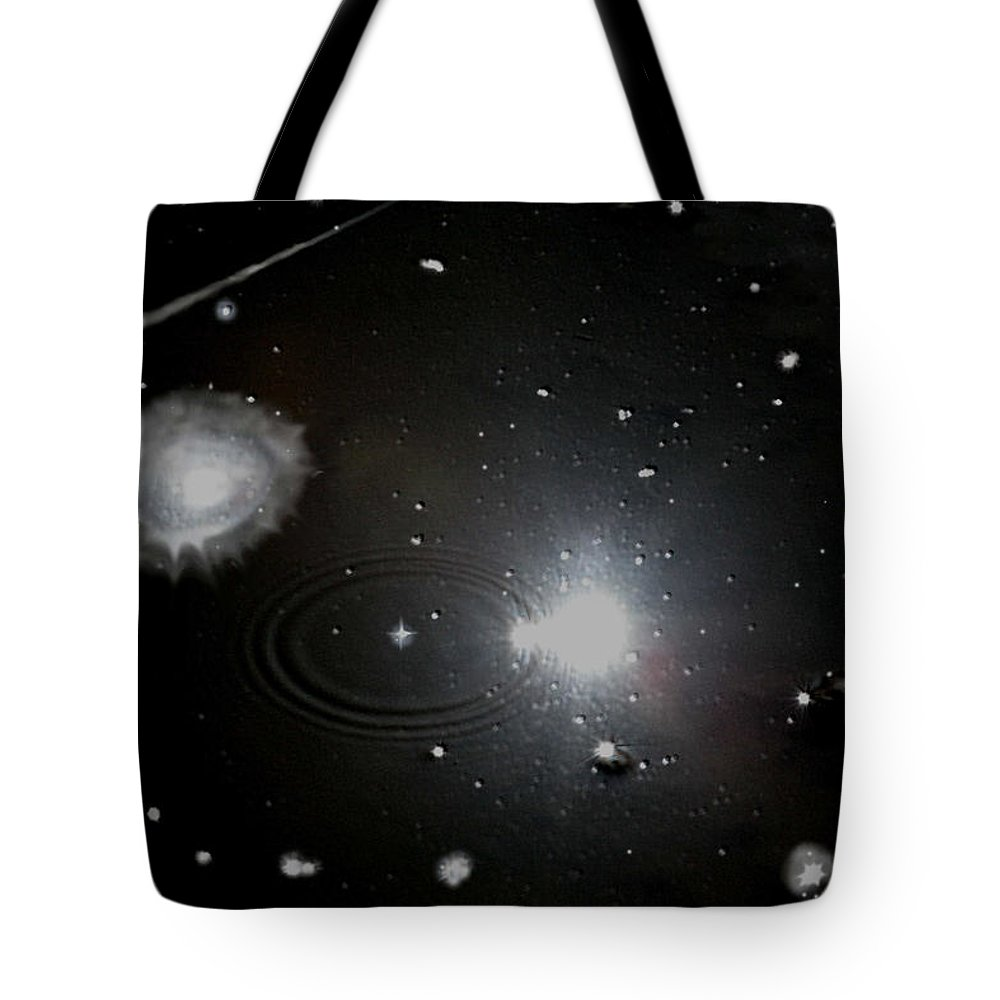 Space Tote Bag featuring the photograph Spacescape by Christopher Rowlands