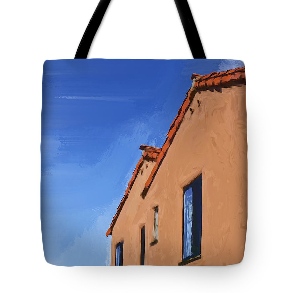 Spanish Tote Bag featuring the painting Spanish Style by Dominic Piperata