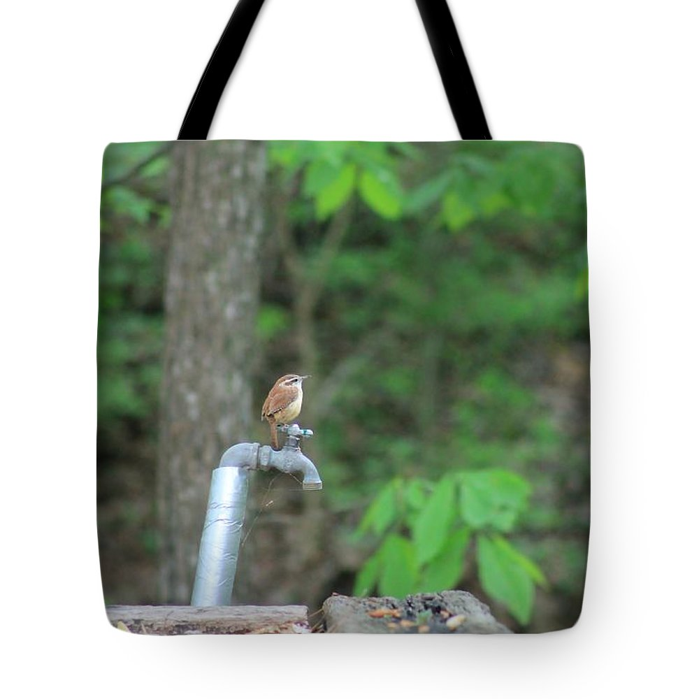 Bird Tote Bag featuring the photograph Sparrow by Mary Koval