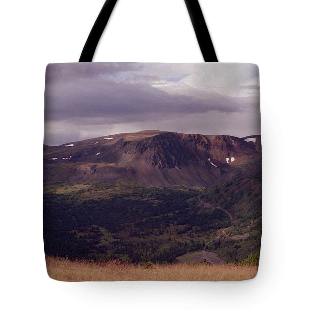 Plateau Tote Bag featuring the photograph Spatzizzi Plateau by Vivian Martin