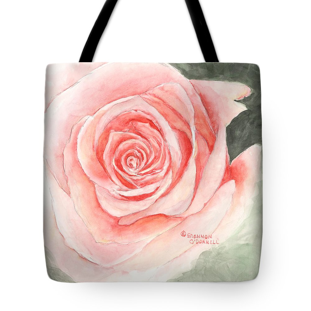 Speak Softly Love Tote Bag featuring the painting Speak Softly Love by Shannon O'Donnell Shannon Gurley O'Donnell