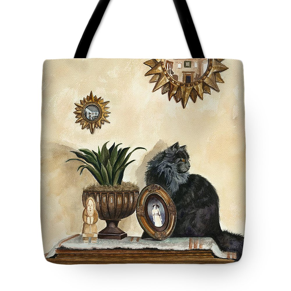 Special Treasures Tote Bag featuring the painting Special Treasures by Terri Meyer