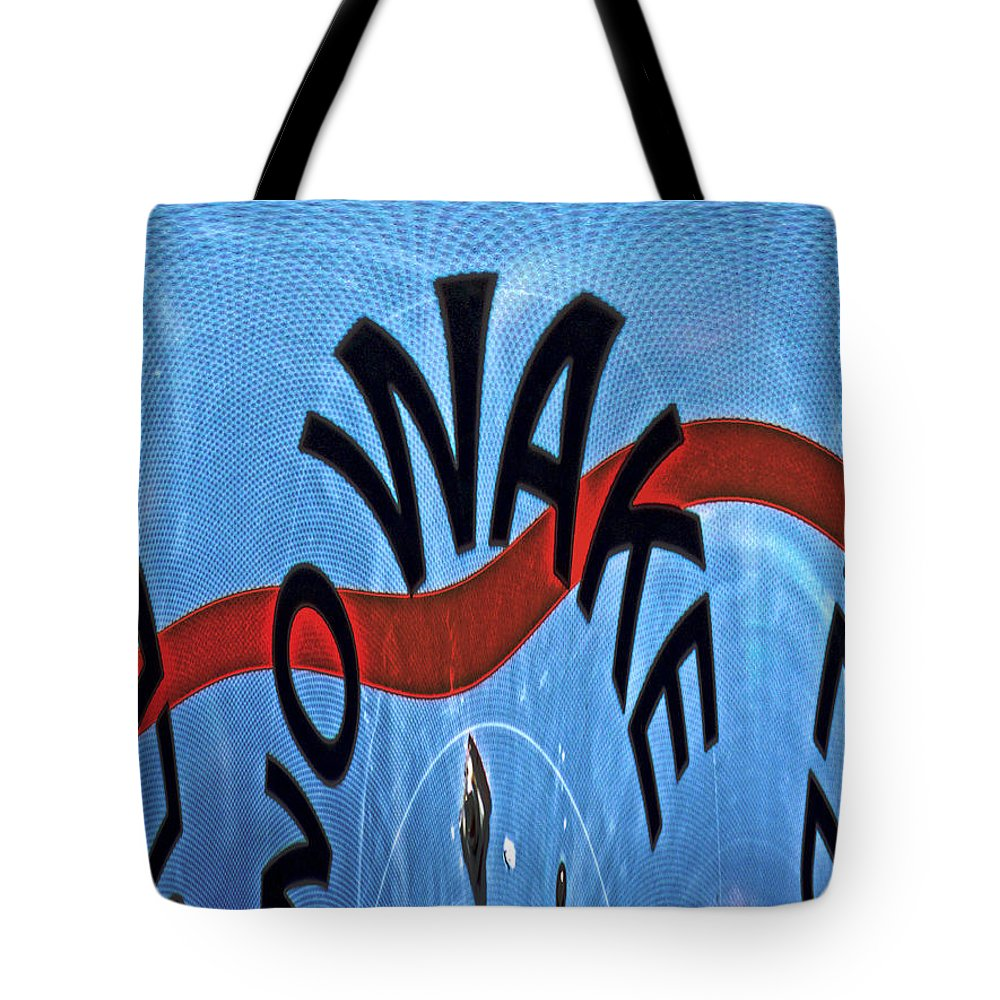 Tote Bag featuring the photograph Speed Bump by Marilyn Holkham