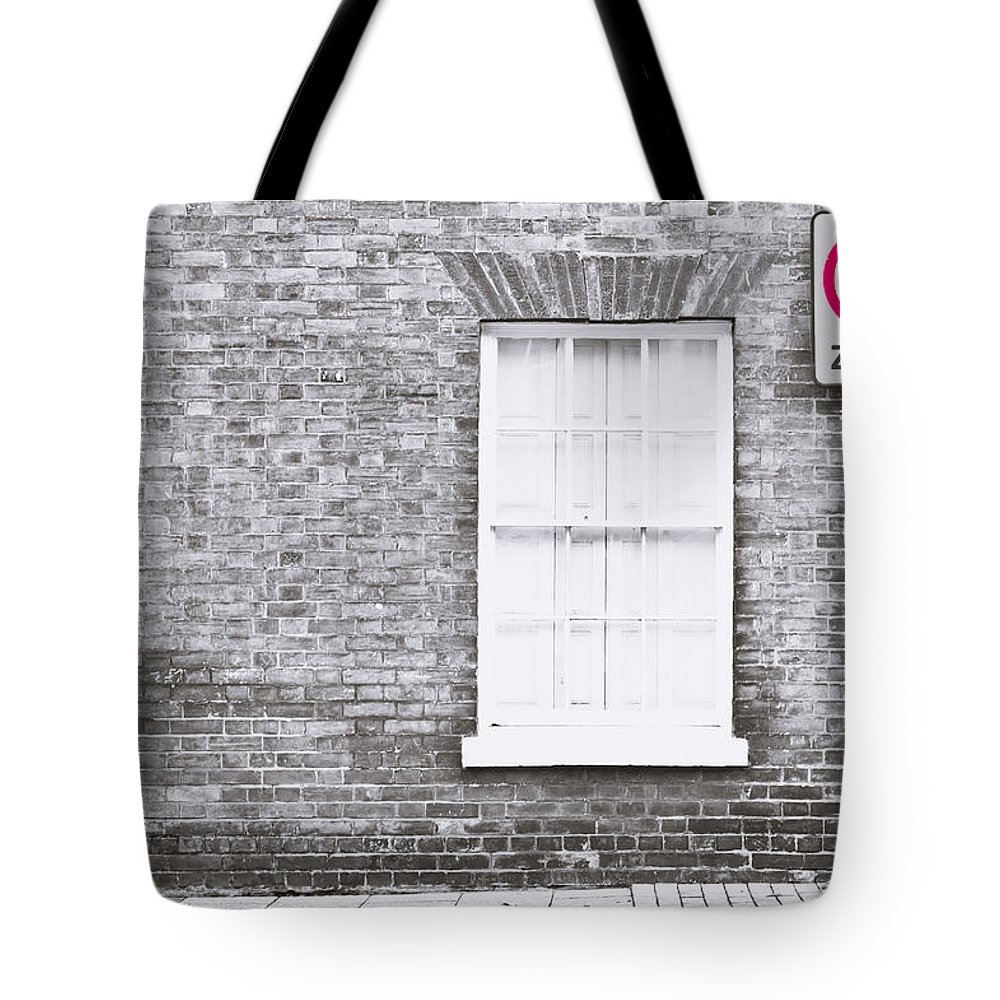 Enforcement Tote Bag featuring the photograph Speed Limit by Tom Gowanlock