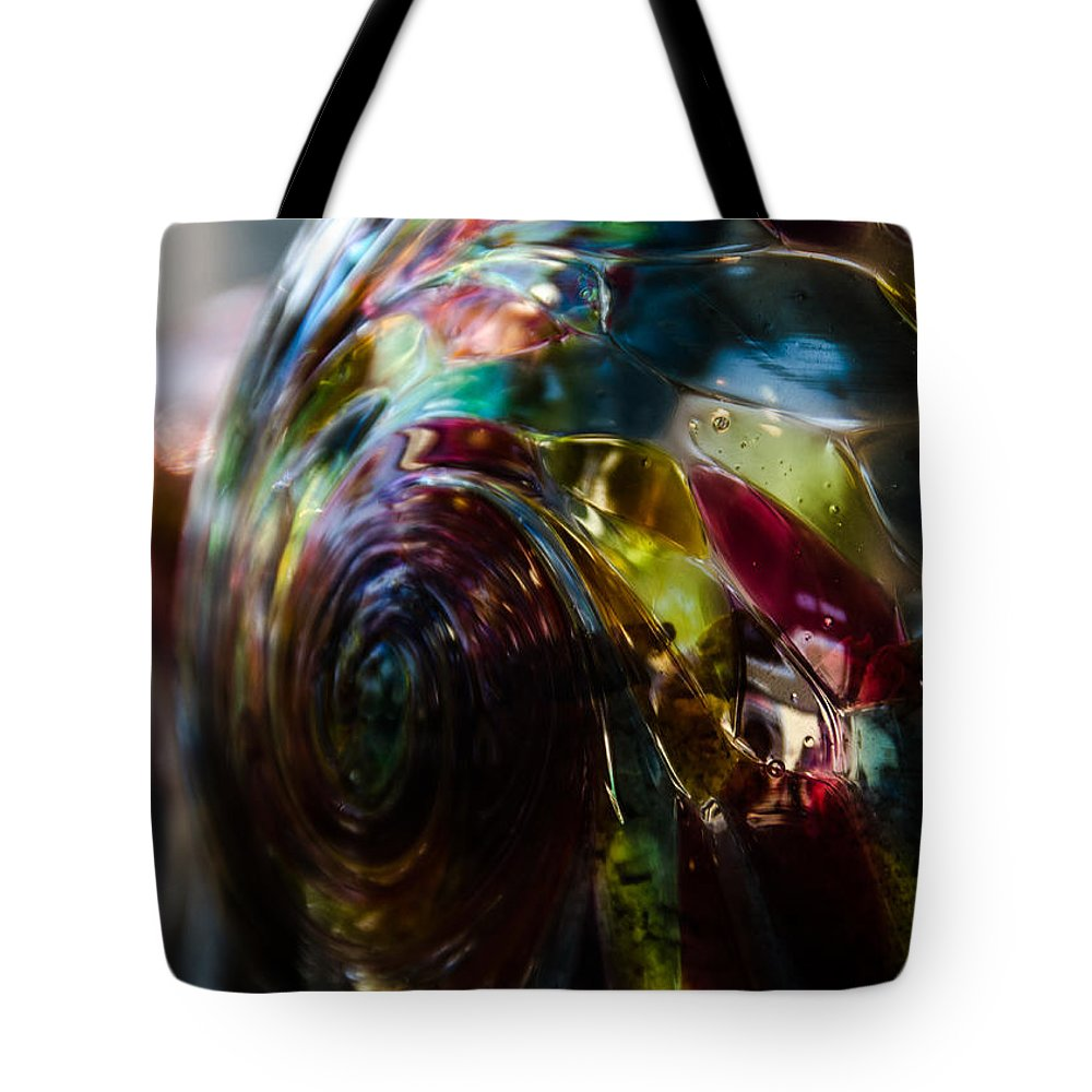 Ball Tote Bag featuring the photograph Sphere Of Color by Joie Cameron-Brown
