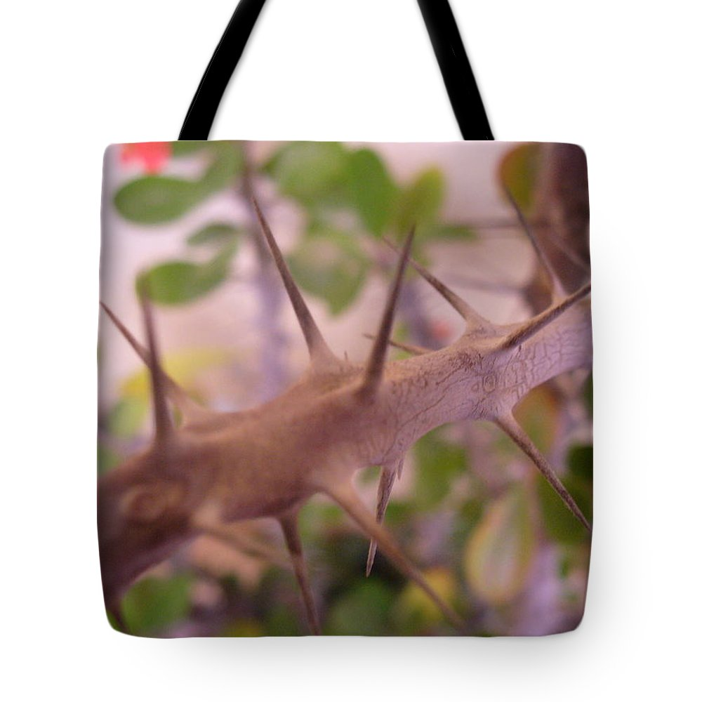 Tote Bag featuring the photograph Spines by Riad Belhimer