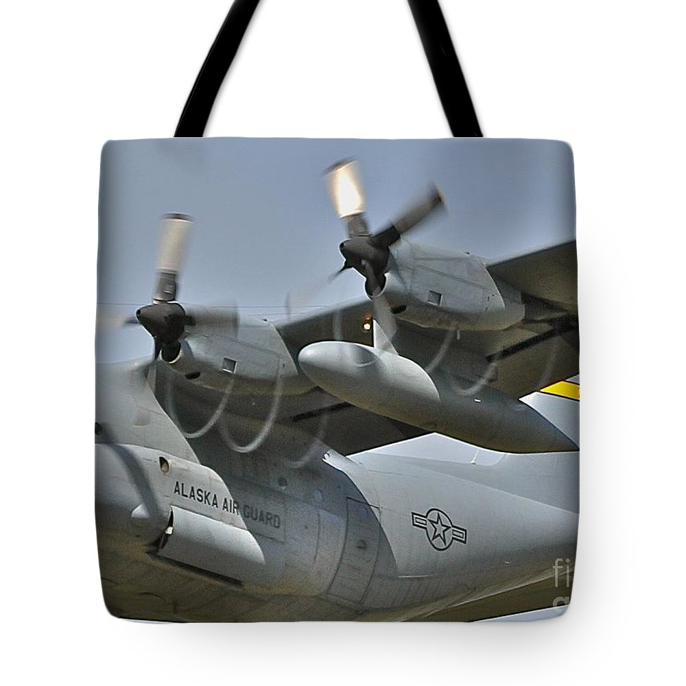 C-130 Tote Bag featuring the photograph Spirals by Rick Monyahan