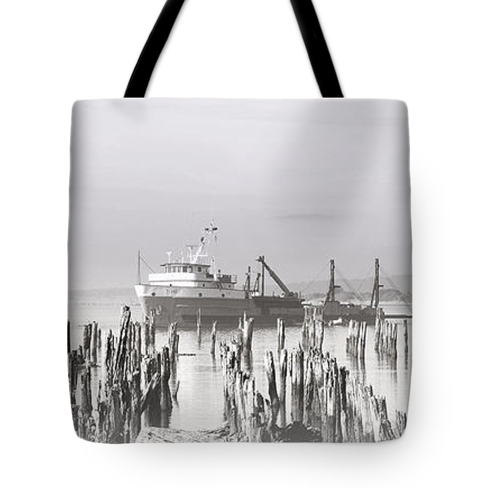 Black Tote Bag featuring the photograph Spoken Softly by Kathy Sampson