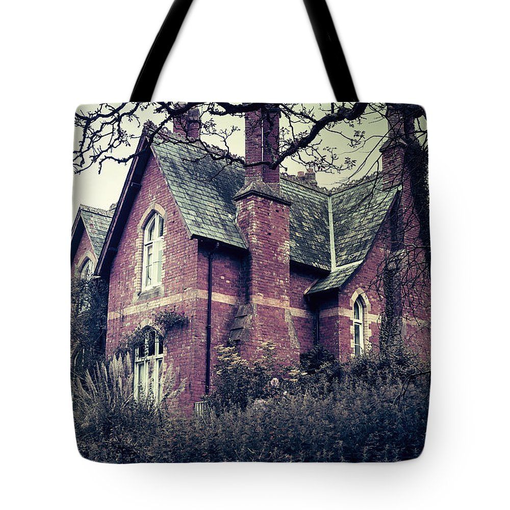 Spooky Tote Bag featuring the photograph Spooky House by Joana Kruse