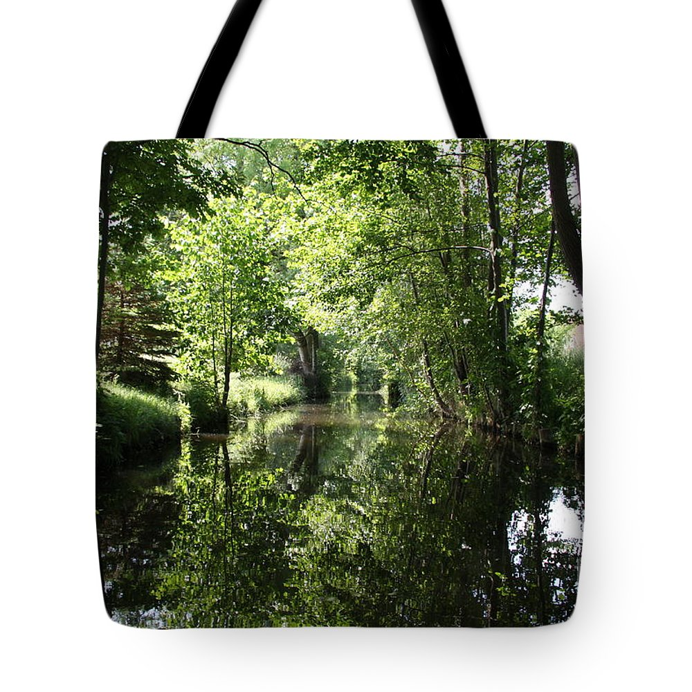 Spree Tote Bag featuring the photograph Spreewald - Germany by Christiane Schulze Art And Photography