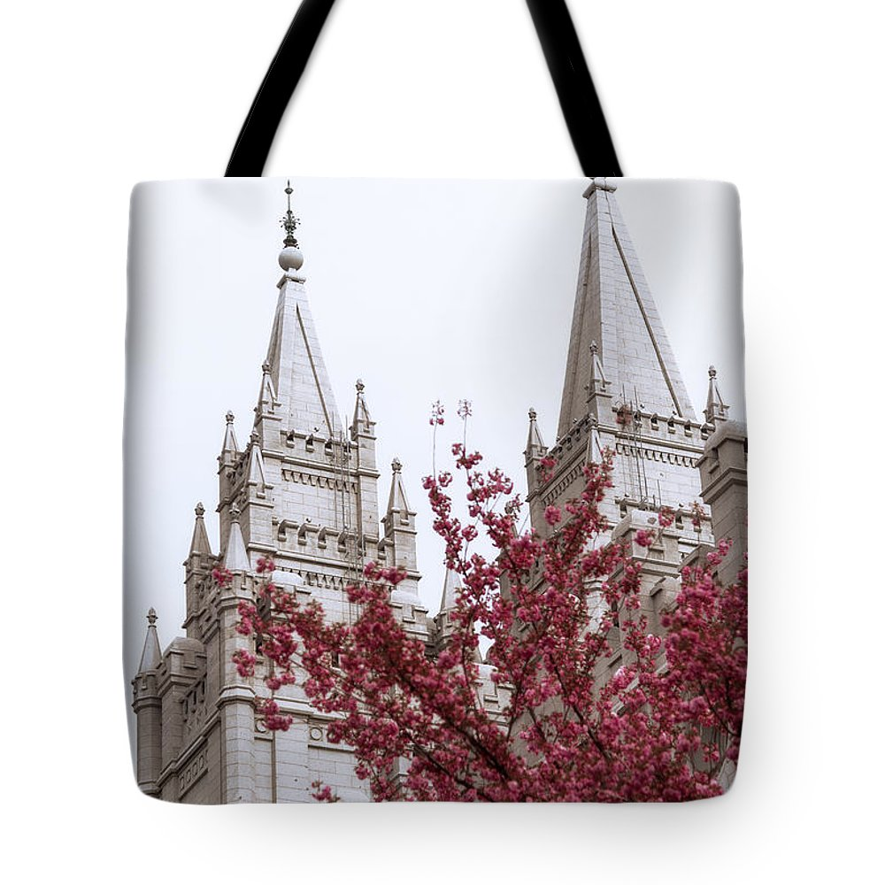 Temple Tote Bags