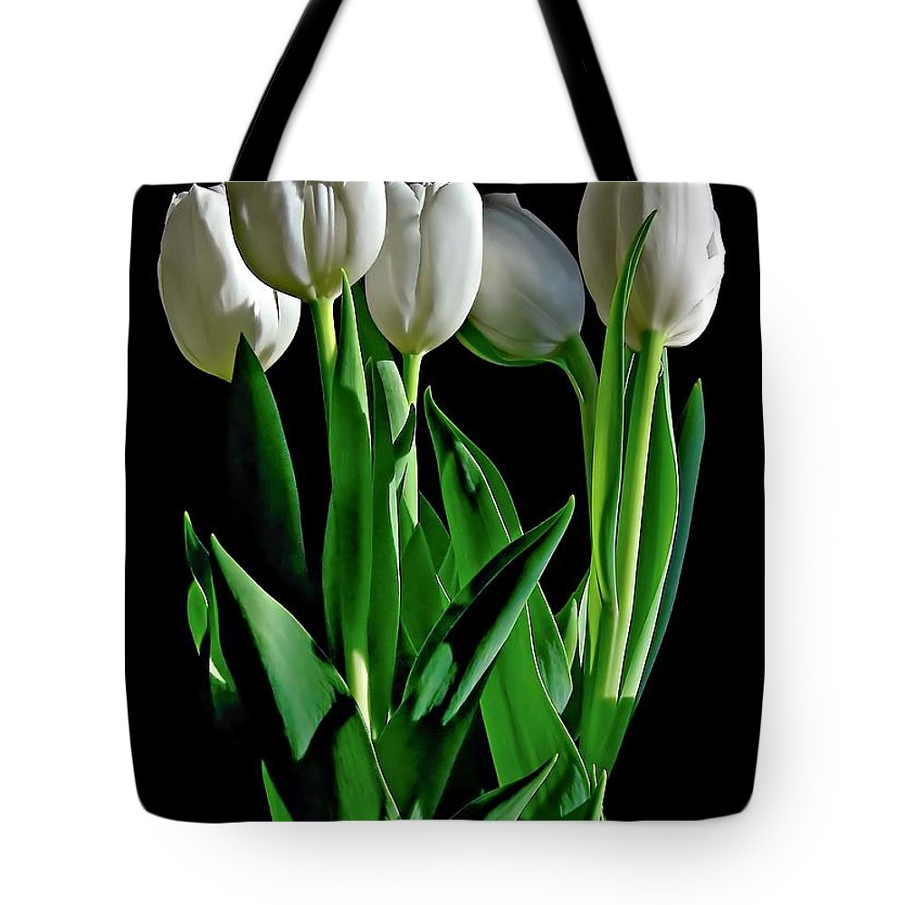 Flower Tote Bag featuring the photograph Spring Beauties by Steve Harrington