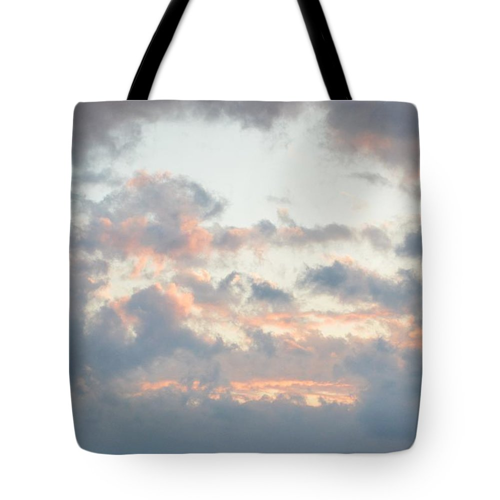 Clouds Tote Bag featuring the photograph Spring Clouds by Thomas Phillips