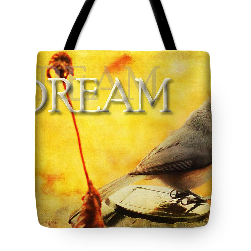 Dream Tote Bag featuring the photograph Spring Dreams by Karen Beasley