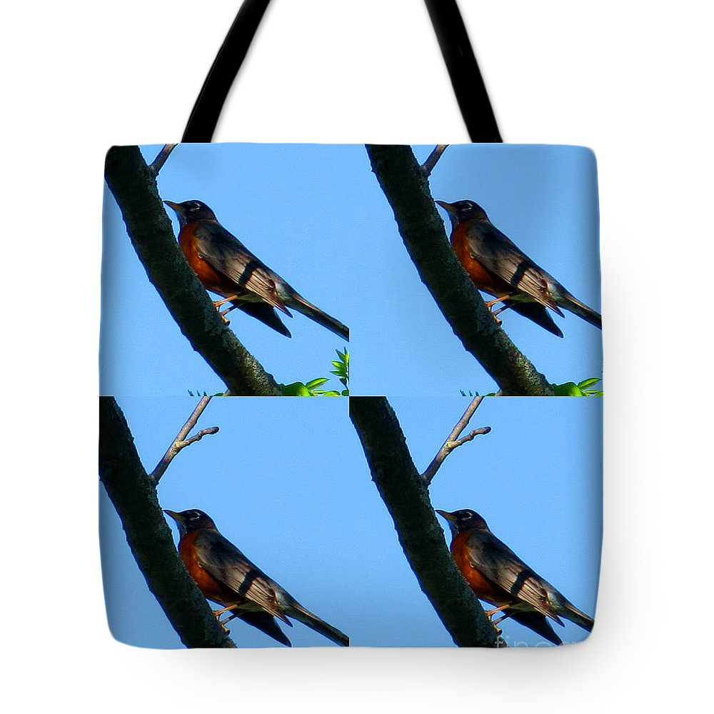 Bird Tote Bag featuring the photograph Spring Flight by Tina M Wenger