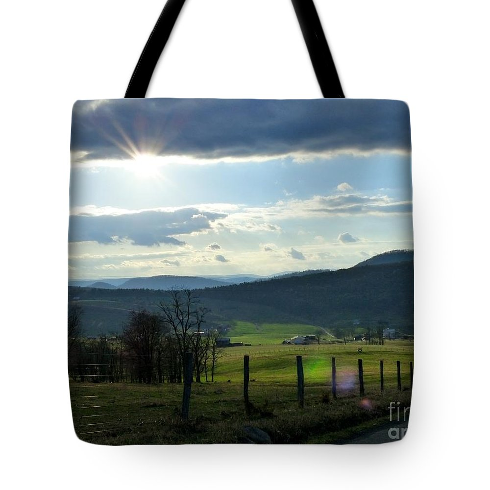 Grass Tote Bag featuring the photograph Spring Grasses by Teena Bowers
