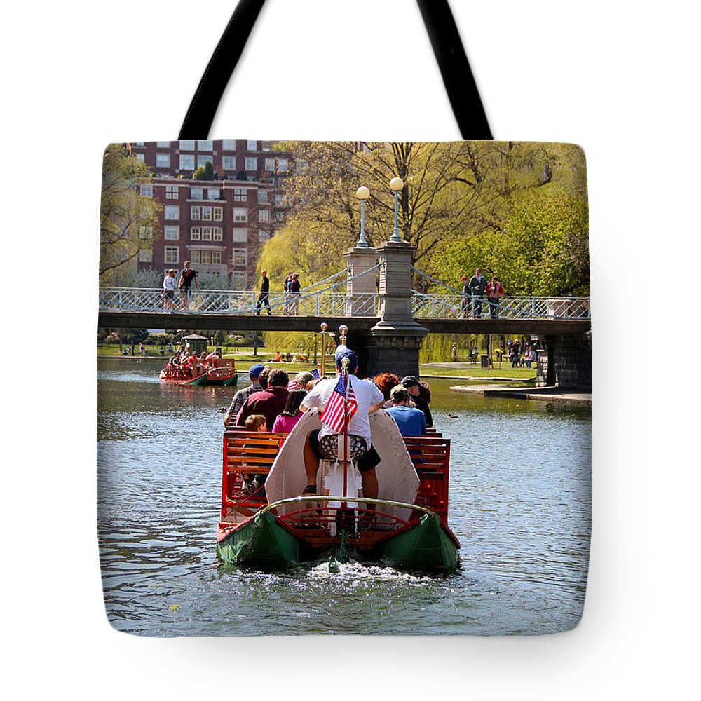 Boston Tote Bag featuring the photograph Spring Is Here by Beverly Tabet