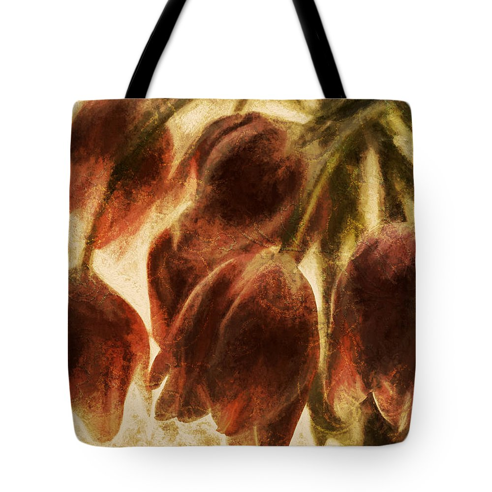Flowers Tote Bag featuring the photograph Spring Love Xix by Tina Baxter