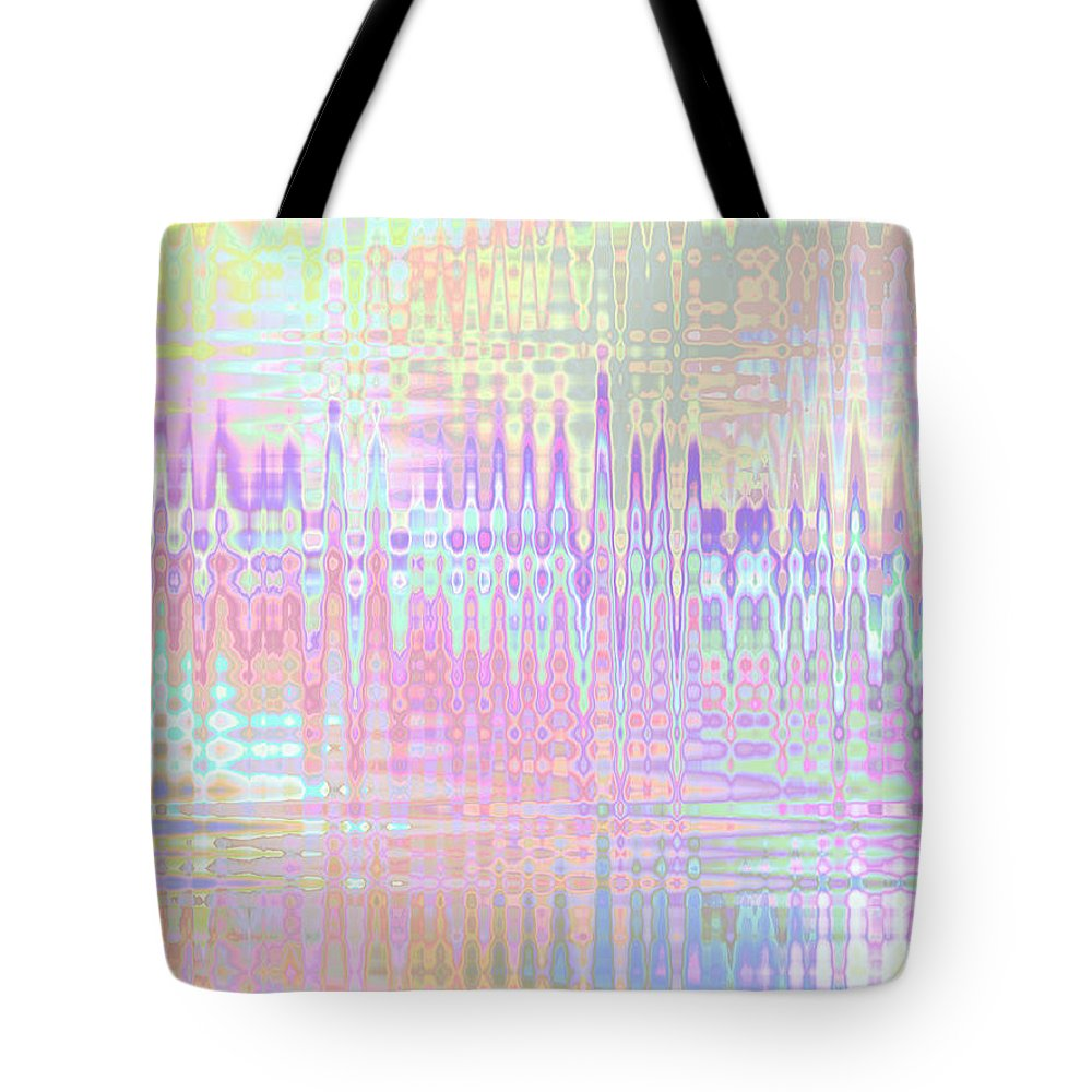 Framed Hotel Prints Tote Bag featuring the digital art Spring Mirage by Kristi Kruse