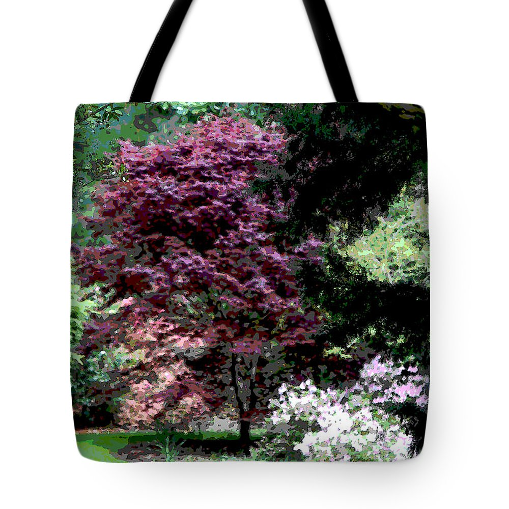 Spring Tote Bag featuring the photograph Spring Retreat by Suzanne Gaff