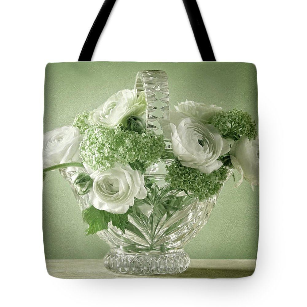 Weis Tote Bag featuring the pyrography Springlife by Steffen Gierok