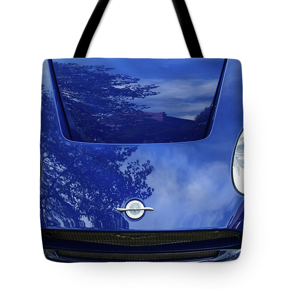 Antique Tote Bag featuring the photograph Spyker by Jack R Perry