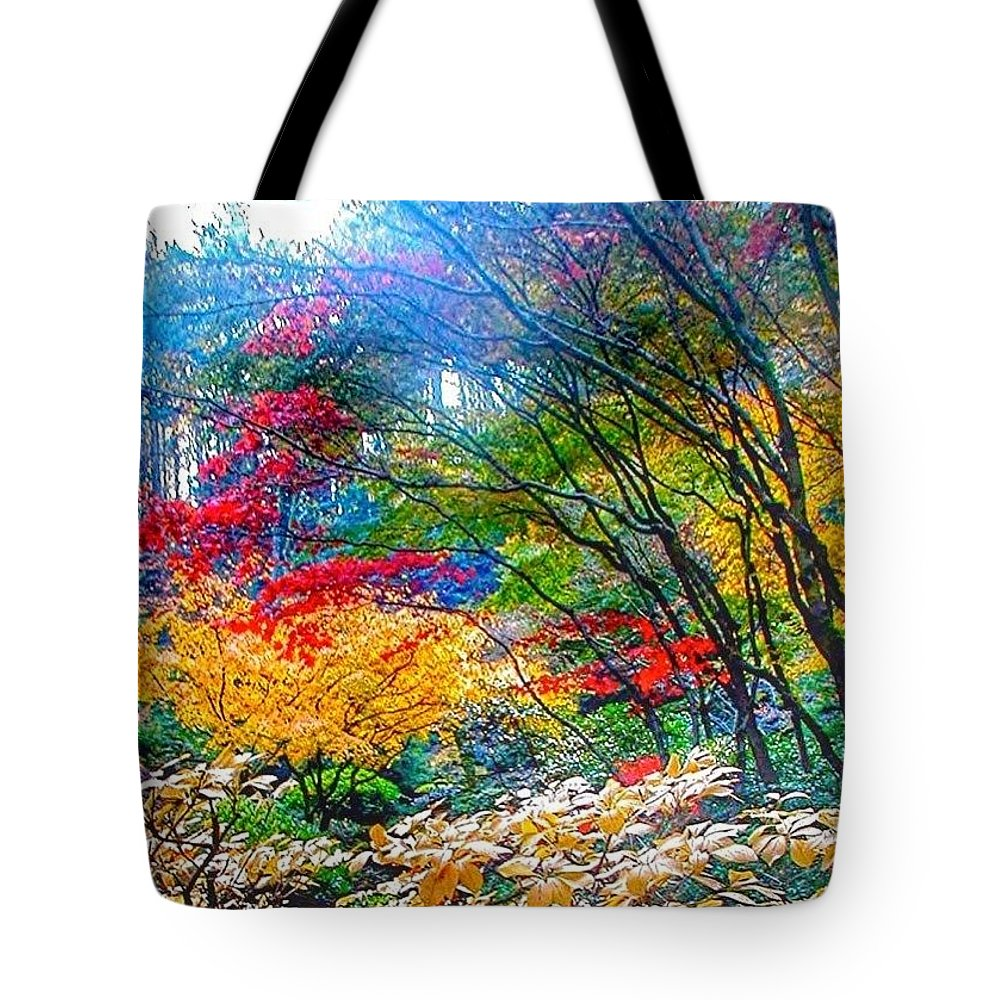 Nature In All Its Glory Tote Bag featuring the photograph Nature in all its Glory by Anna Porter
