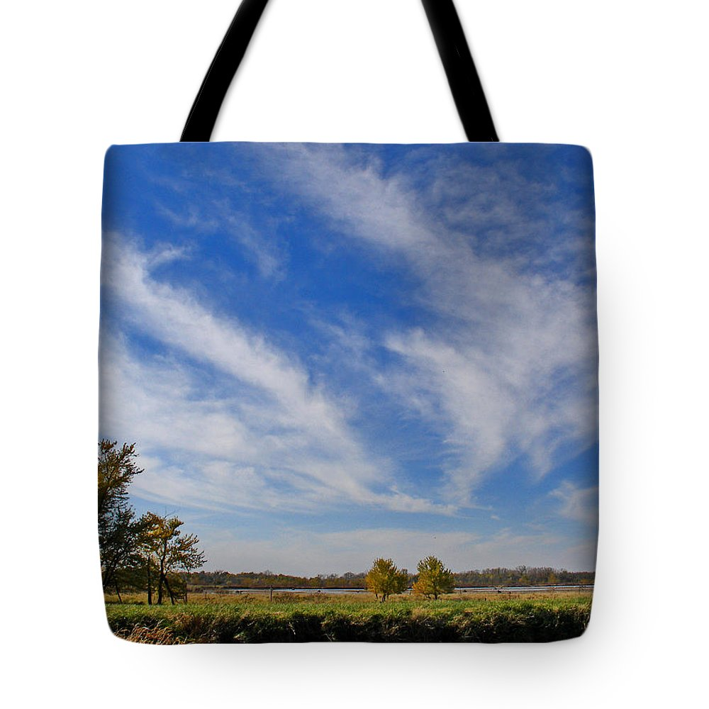Landscape Tote Bag featuring the photograph Squaw Creek Landscape by Steve Karol
